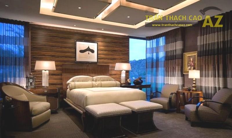 Chọn màu sắc phù hợp cho trần phòng ngủ cũng khá quan trọng
