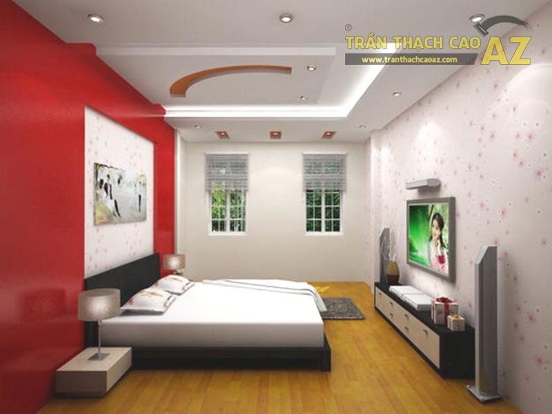 20 mẫu trần thạch cao phòng ngủ 2019 đơn giản mà đẹp