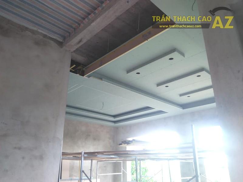 Thi công trần thạch cao nhà cấp 4 hiện đại tại Thanh Liêm, Hà Nam - 02
