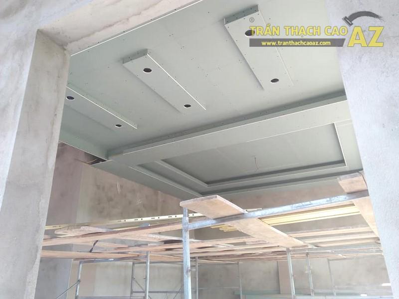 Thi công trần thạch cao nhà cấp 4 hiện đại tại Thanh Liêm, Hà Nam - 04