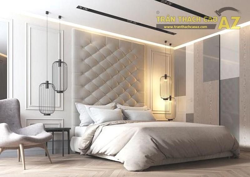 Trần thạch cao phòng ngủ nhỏ 10m2 tuyệt đẹp - 02