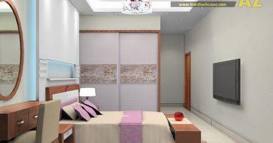 31 mẫu trần thạch cao phòng ngủ nhỏ 10m2, 15m2, 20m2 đẹp tuyệt trần