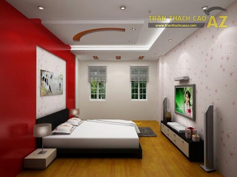 Mẫu trần thạch cao cho phòng ngủ vợ chồng 20m2 - 03