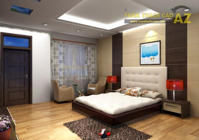 Mẫu trần thạch cao đẹp cho phòng ngủ nhỏ