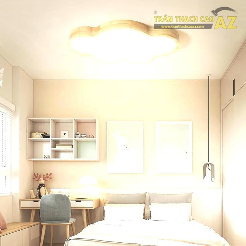 Mẫu trần thạch cao phòng ngủ nhỏ cho bé - 03