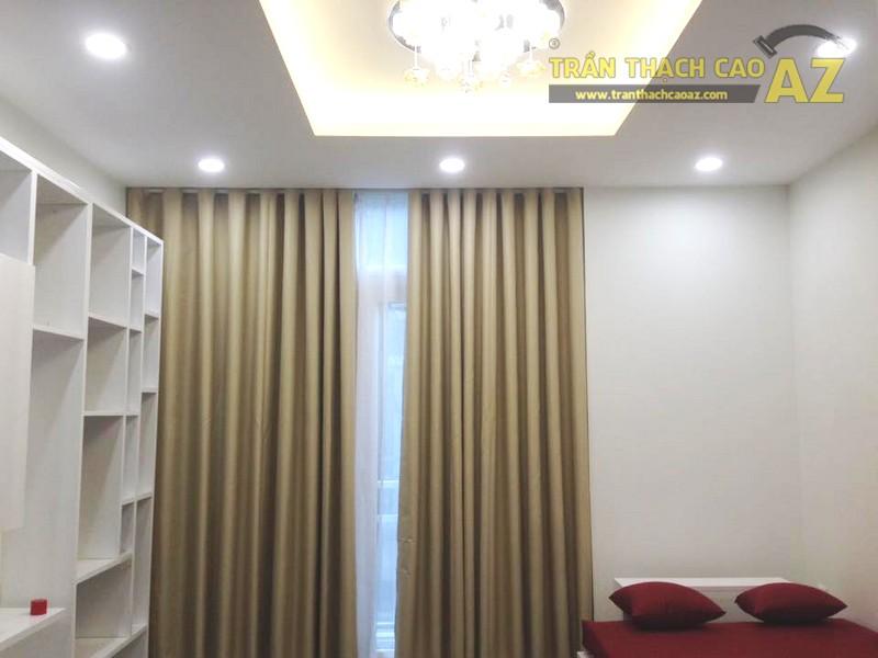 Làm trần thạch cao phòng ngủ đẹp tuyệt trần cho nhà chị Thỏa - 01