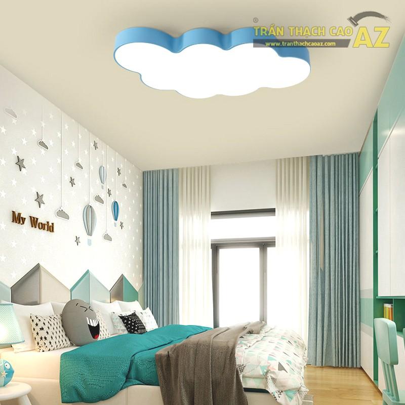 Trần thạch cao phòng ngủ nhà ống đẹp, tốt cho phong thủy - 03