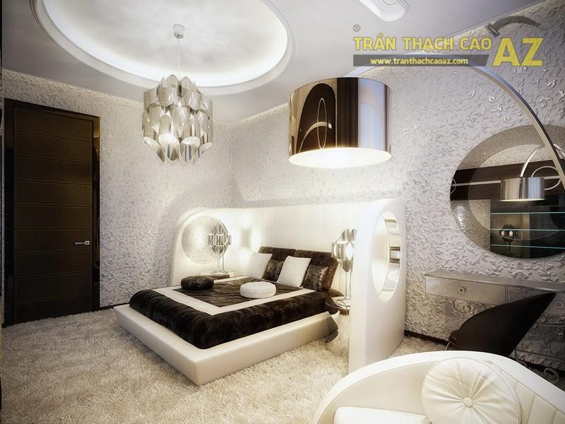 1 số mẫu trần thạch cao đẹp cho phòng khách, phòng ngủ nhỏ - 05