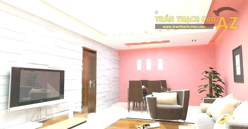 Mẫu trần thạch cao đẹp 2020 cho nhà hiện đại - 01