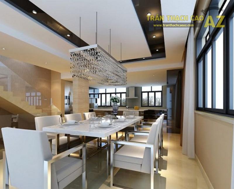 Trần thạch cao phòng bếp chung cư