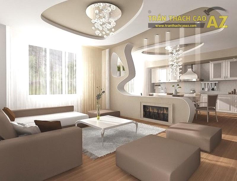 Trần thạch cao chung cư - Yếu tố làm nên điều khác biệt cho các căn hộ