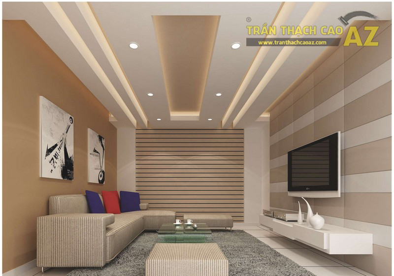 Làm trần thạch cao chống nóng cho nhà mái tôn