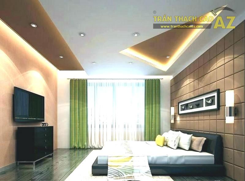 AZ nhận thi công trần thạch cao phòng ngủ nhỏ giá rẻ nhất